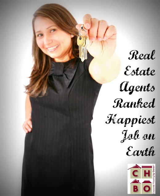 real estate agents ranked happiest profession