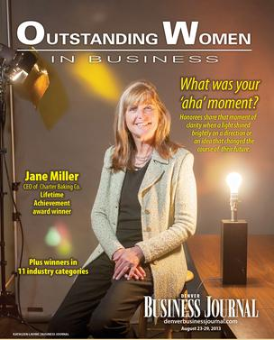 Outstanding Women in Business - Kimberly Smith presented Real Estate Award