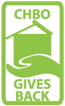 Successful corporate housing landlords - CHBO gives back logo