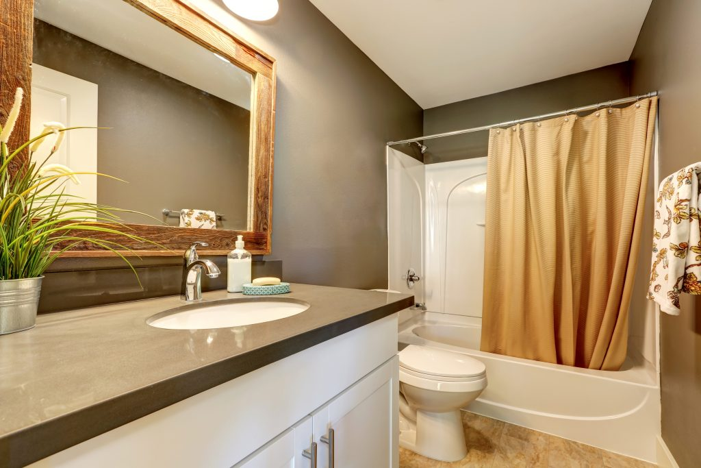 Furnished Housing Bathrooms