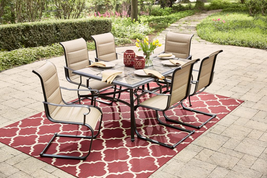 corporate housing patio table