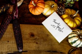 Thanksgiving letters