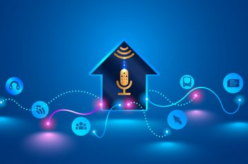 corporate homes Voice assistant
