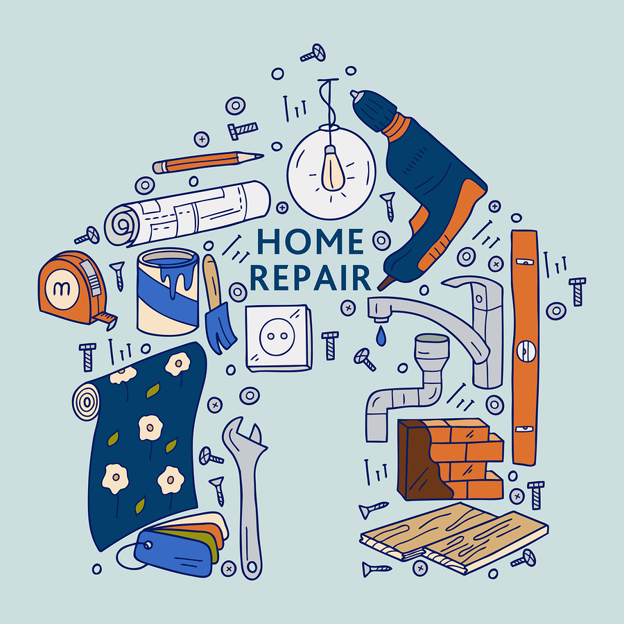 Furnished housing repairs