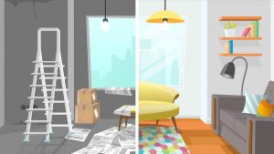 Renovating your furnished housing