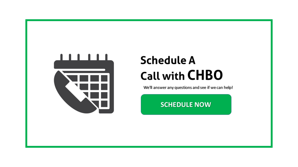 Schedule a call with CHBO