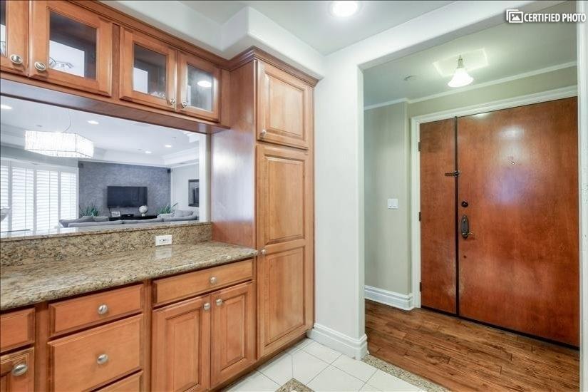 Kitchen 3 with Front Door