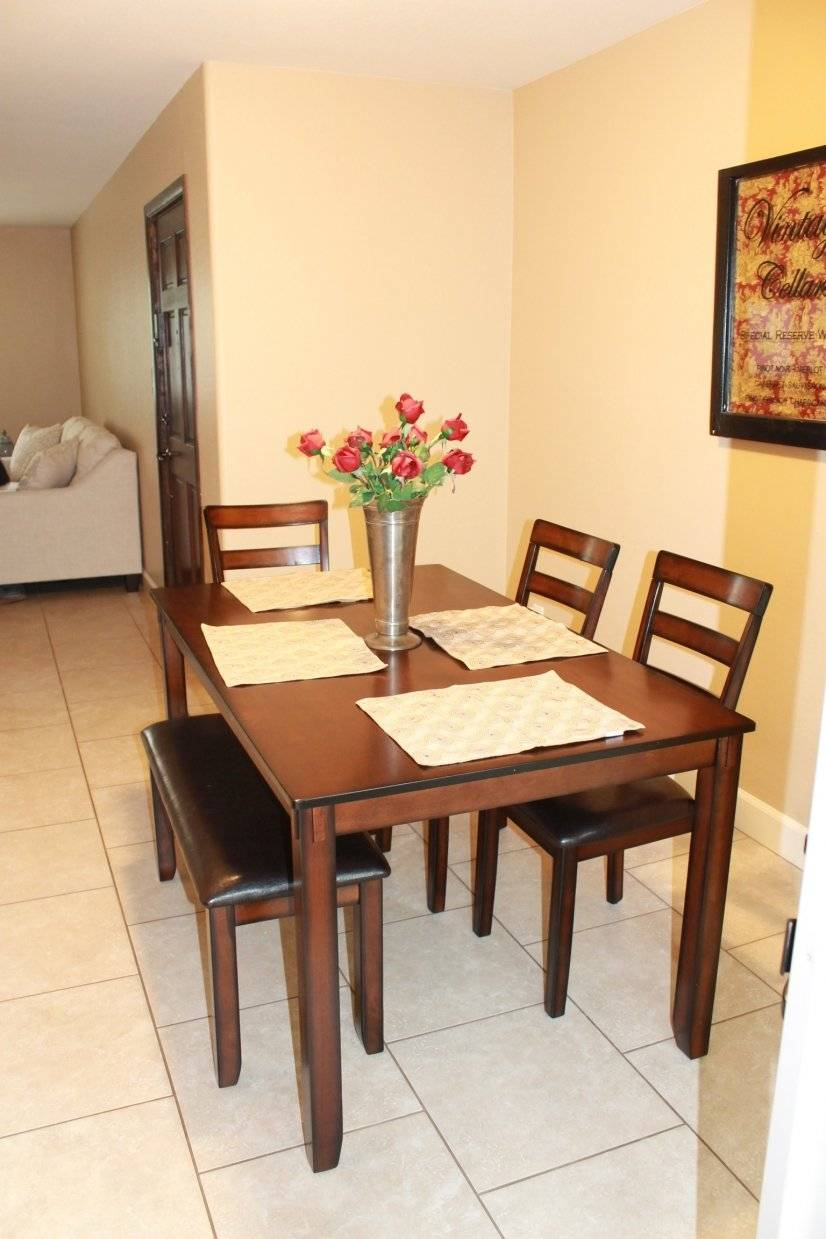 Dining table with seating for 6!
