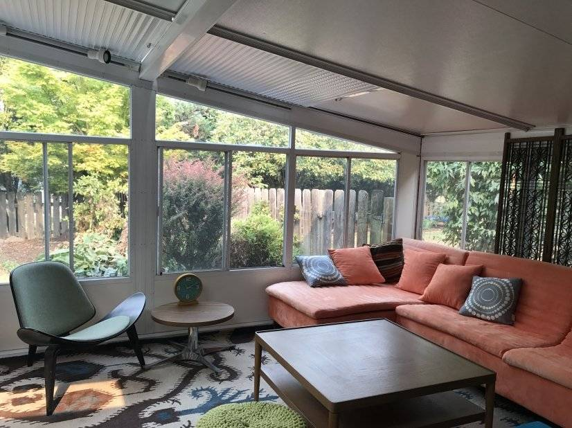 sunroom cozy
