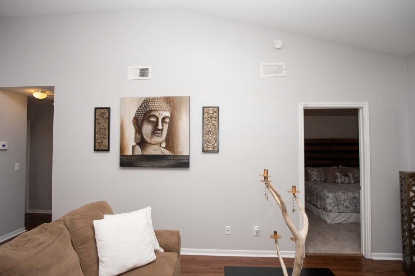 A shot of our wonderful living room