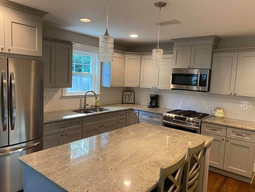 Luxury kitchen, SS appliances