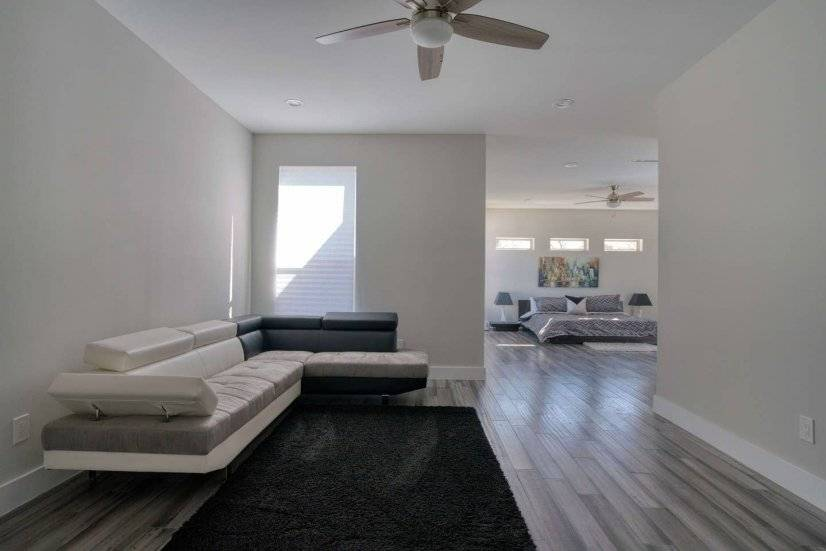 Huge Master with King Bed and Living Area