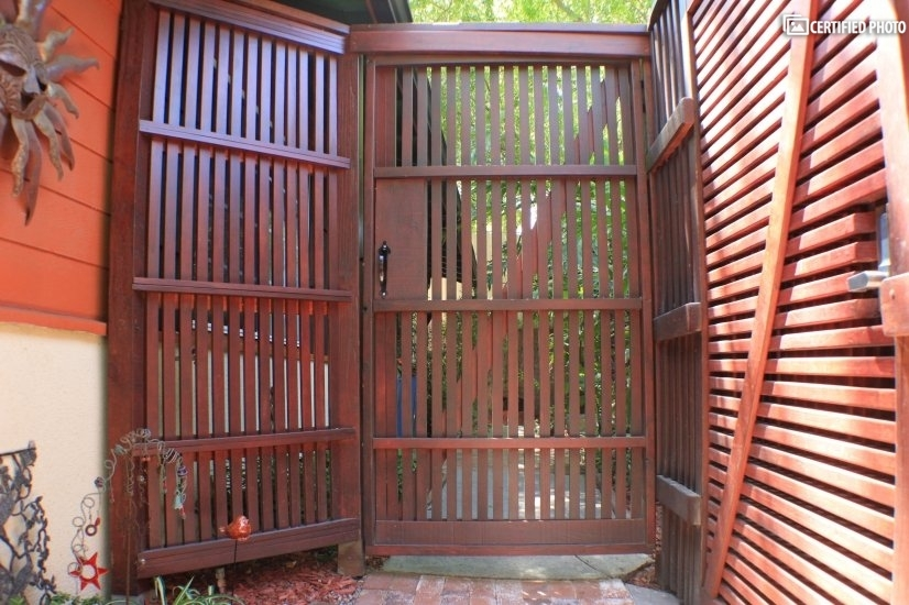 Gate to Front Patio