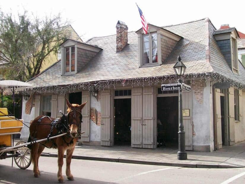 Lafitte's Blacksmith Shop (watering hole)