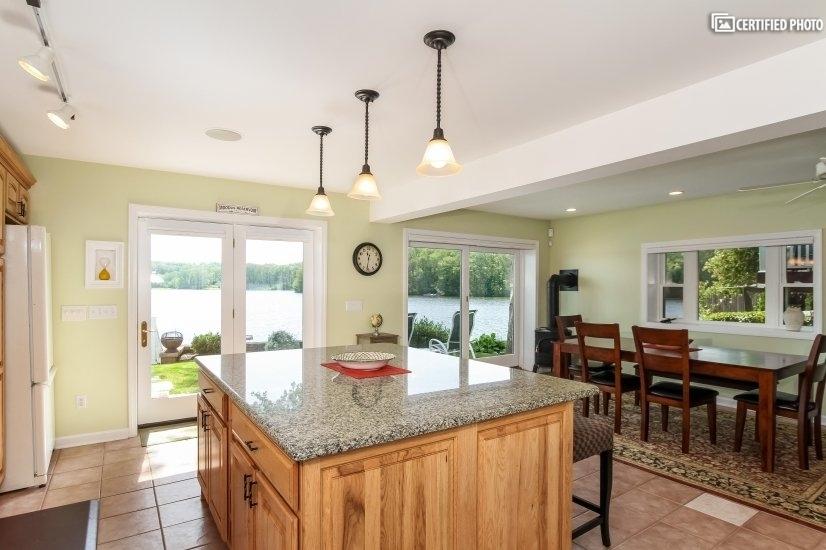 Kitchen/Island overview.