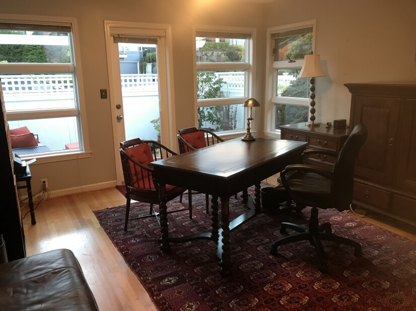 Second Bedroom or Office Den with Private Patio