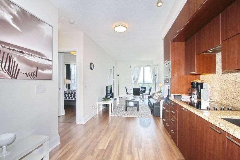 kitchen, living area