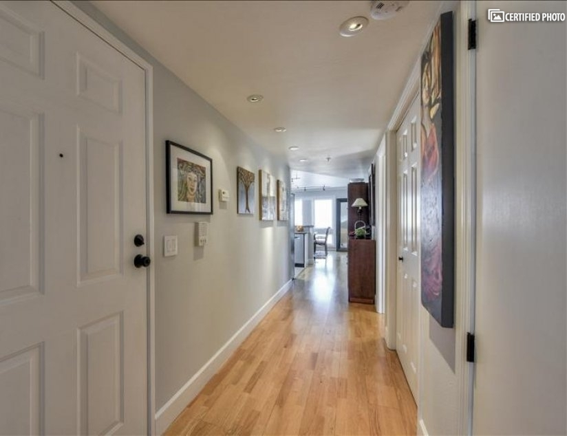 Hallway, Condo Entrance Door