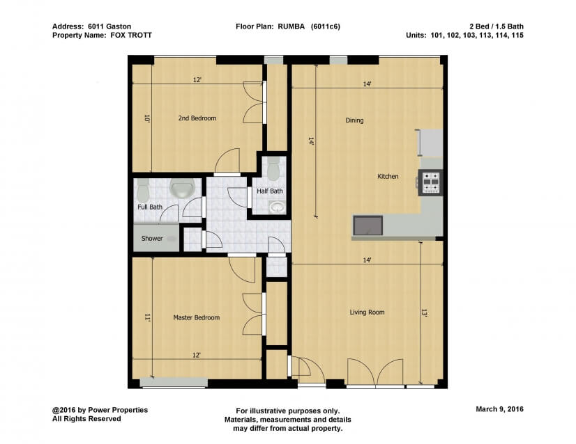 Rumba Floor Plan