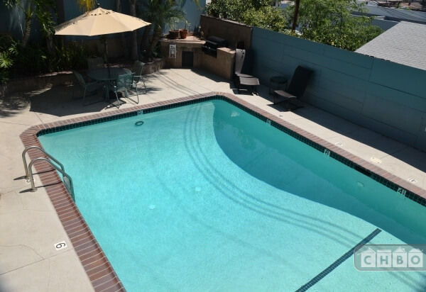 Swimming Pool - in rear of the property
