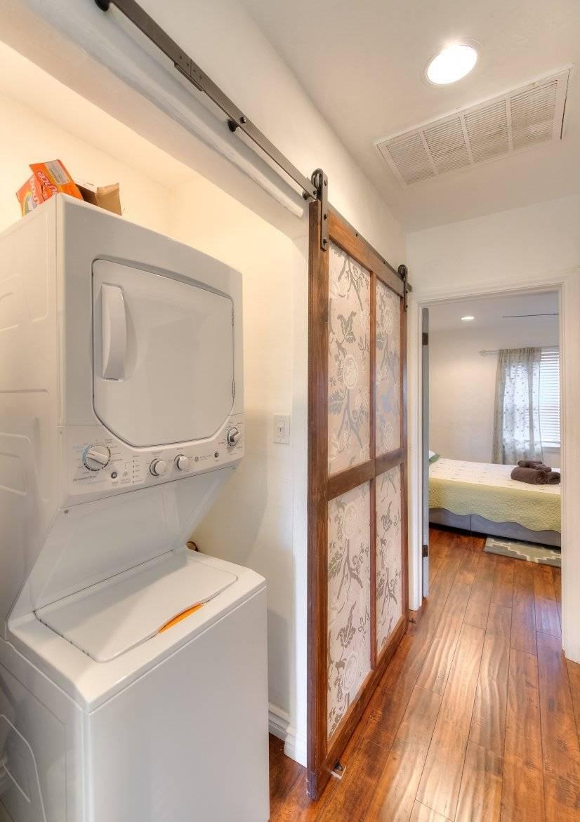 Hallway wsasher and dryer