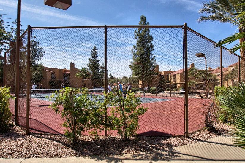 Tennis/Pickle ball court