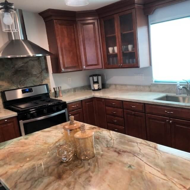 Chef ready kitchens, granite counters