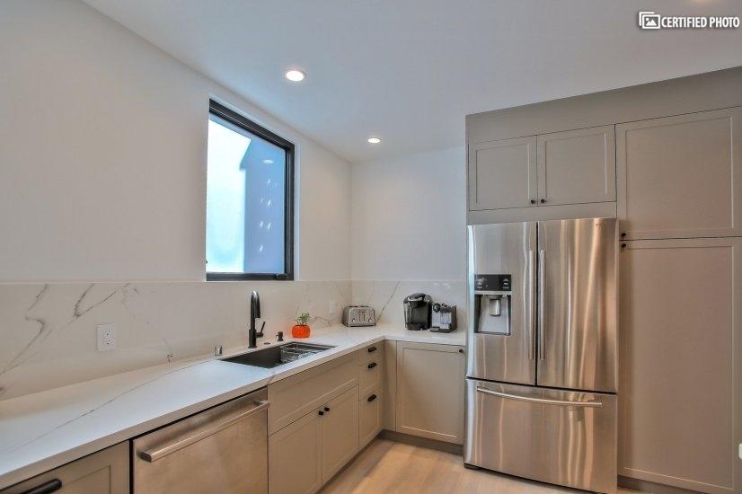 Brand new appliances (fridge, dishwasher, gas stove)