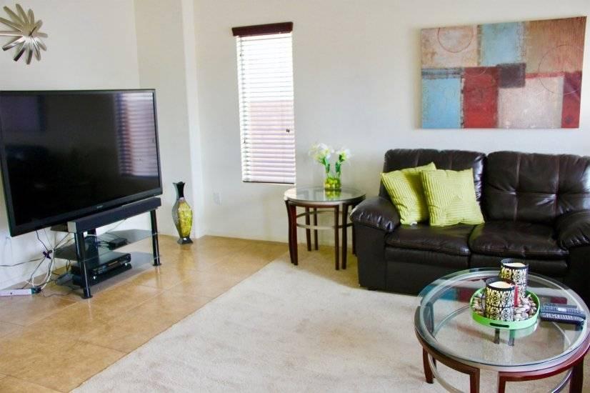 """70"""" smart HDTV with premier level fully furnished rental"""