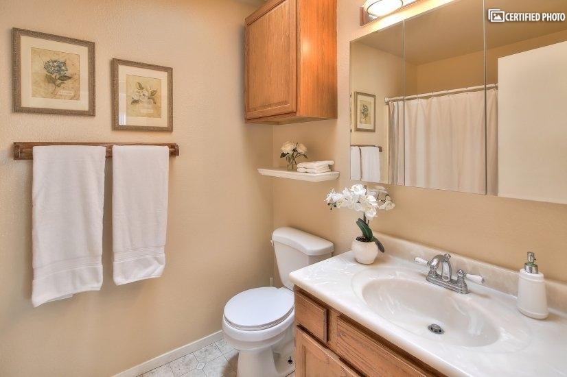 Quest Bedroom, Shower/Tub