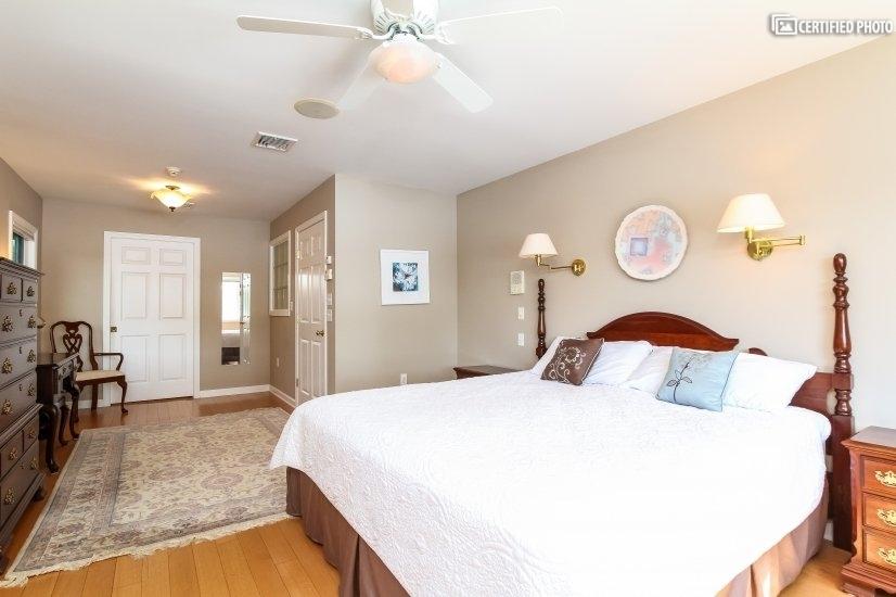 Opposing view of Master Bedroom.