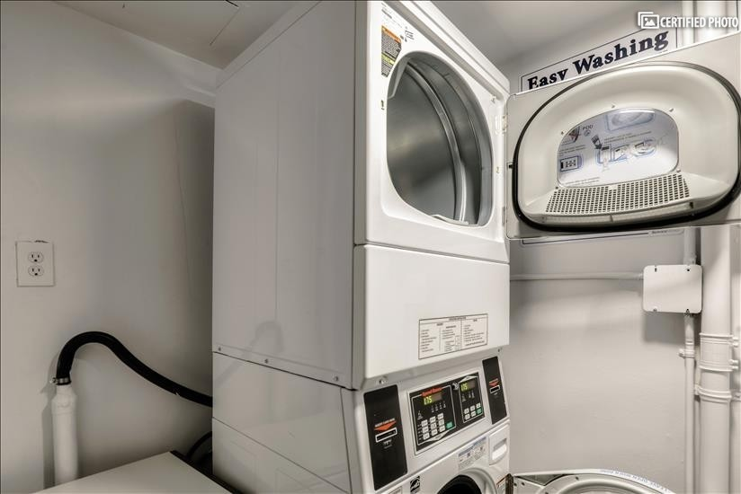 Common Laundry Room on each Floor
