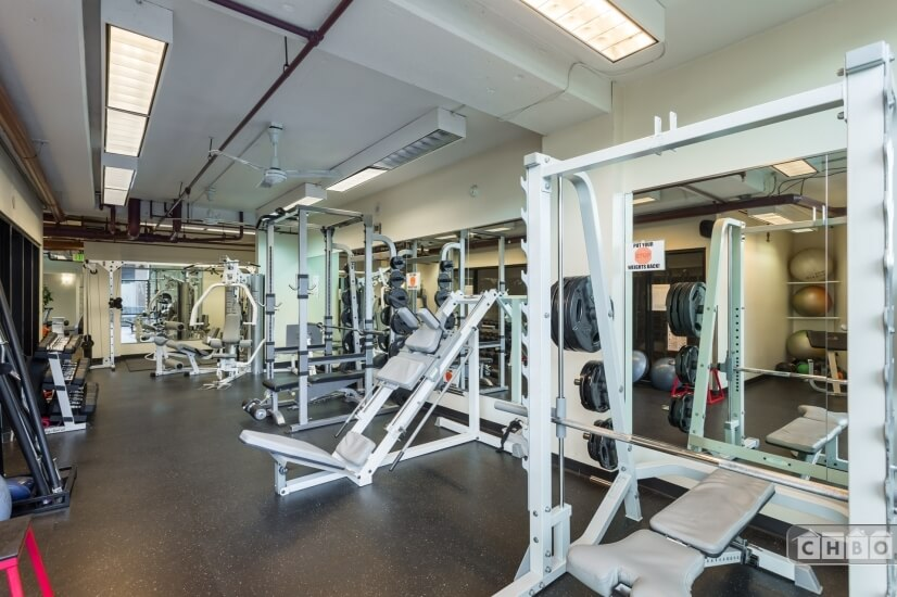 Exercise Room 2 Free Weights, Nautilus, Racquetball Court