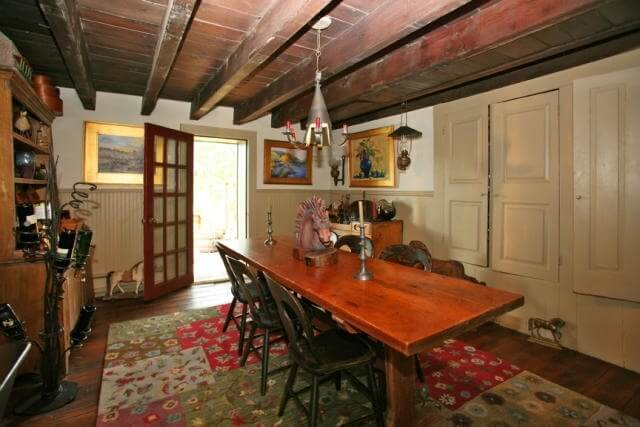 Dining Room leading to the Deck