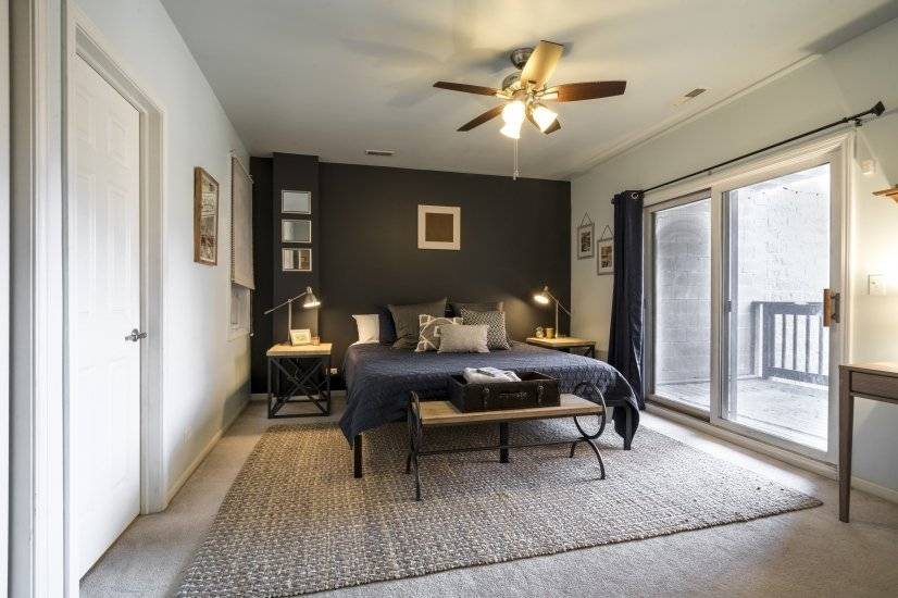 Master Bedroom - three closets, en suite bathroom - Unit 2
