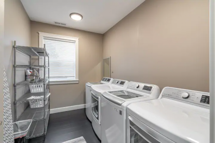 Dual Washer/Dryers in Unit!
