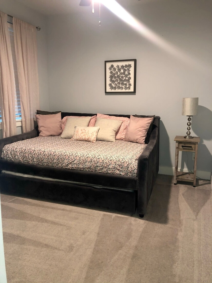 Bedroom #2: Full size trundle with a twin bed