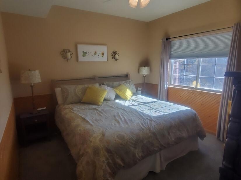 Bedroom #1 with New Casper King Mattress