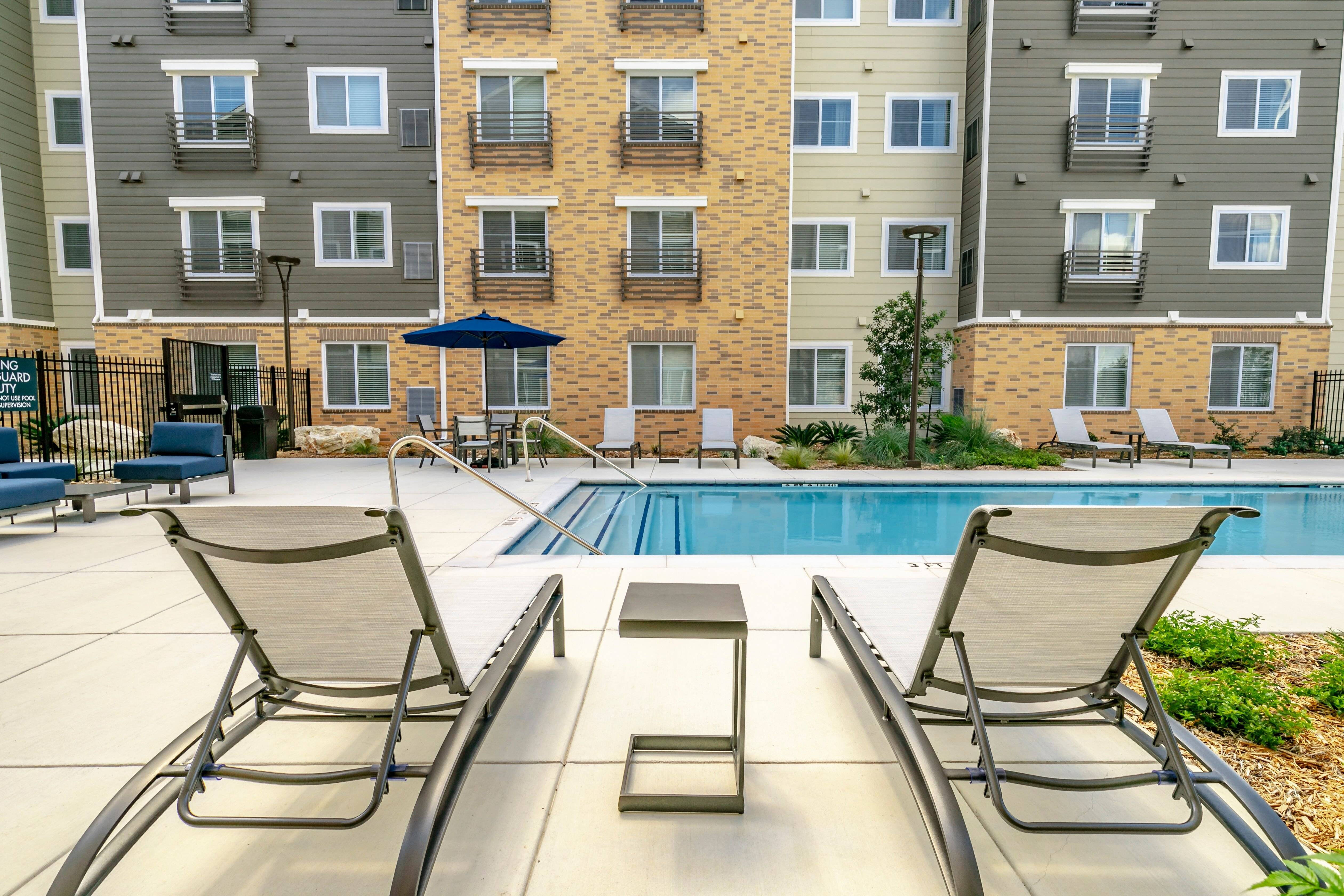 Relax by the gorgeous outdoor pool!