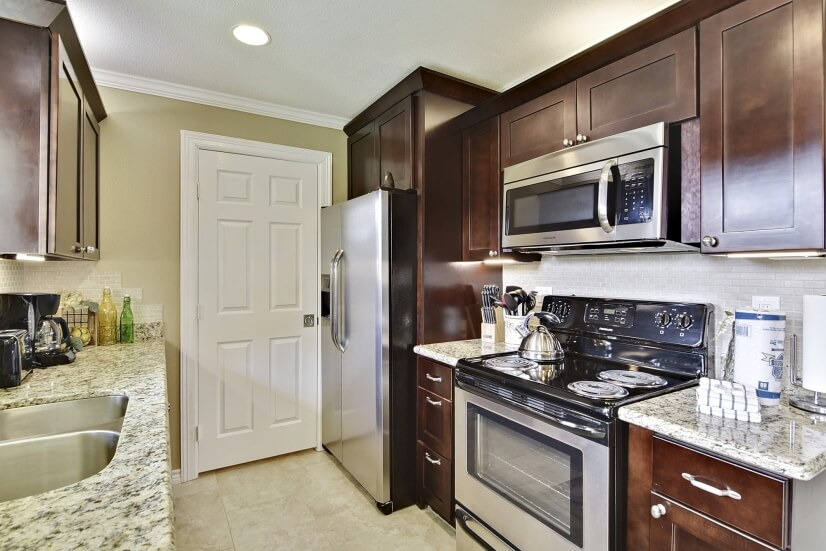 Most Units Offer Granite Countertops & Stainless Appliances