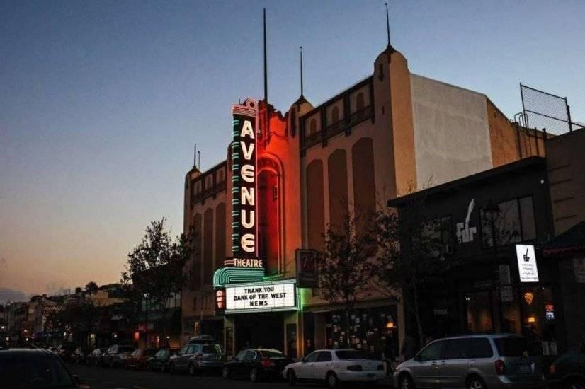 restored historic theater San Bruno Street