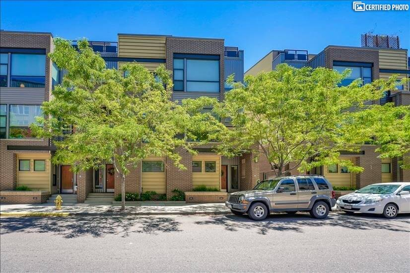 Trendy Downtown Denver Townhome with Monthly Rental Rates