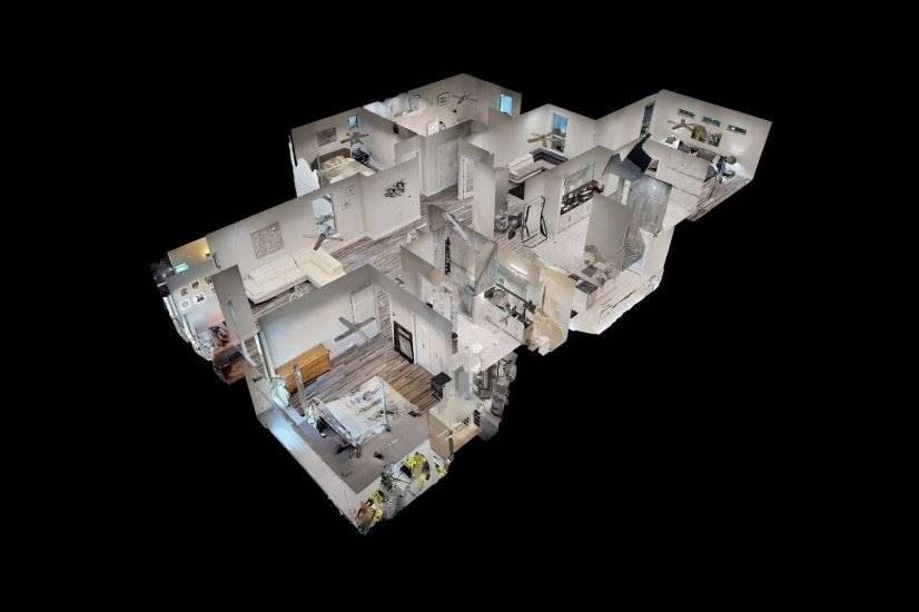 3D View of Entire House