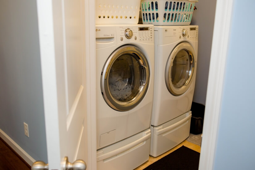 Washer & dryer available!