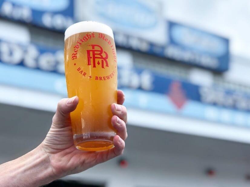A 2 min walk to Redlight Redlight craft beer bar & brewery