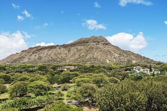 Diamond Head National Park view