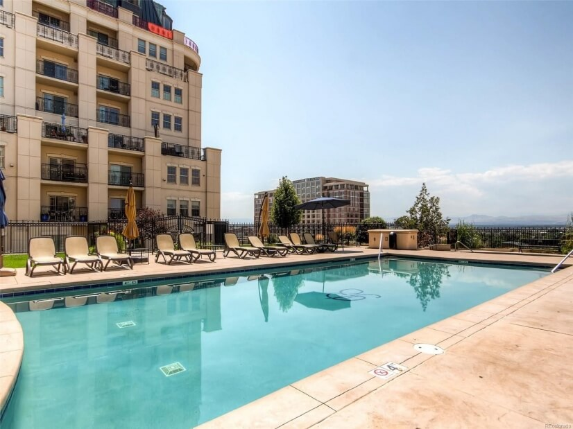 Enjoy the pool and terrace area all summer long