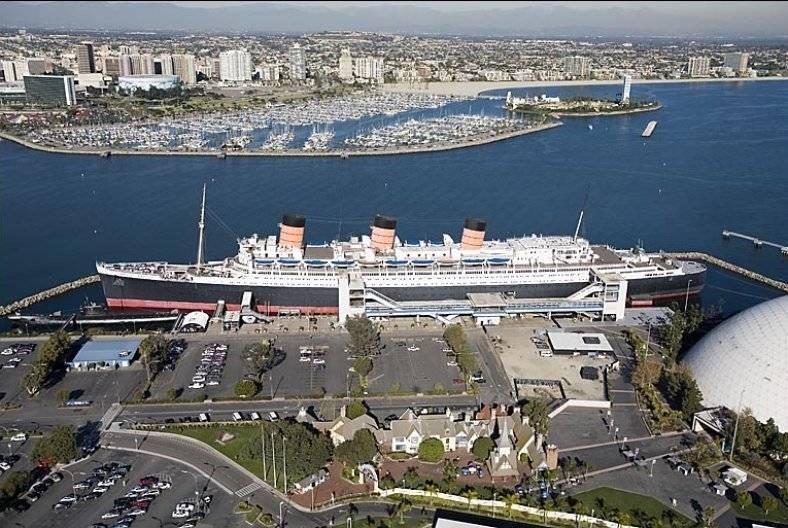 Walk to Queen Mary, Aquarium, cruise terminal,Catalina ferry
