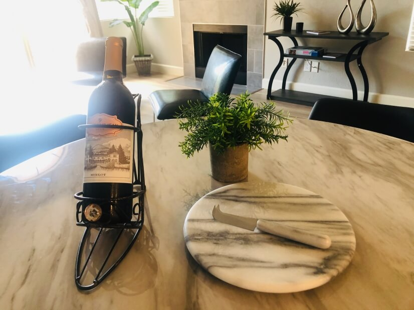 Welcome Bottle of Wine for guests staying one week or longer
