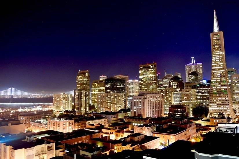 Your rooftop view--SF's finest! Walk downtown in 8-10min.